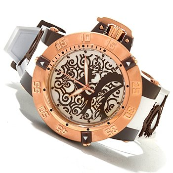 620-007 - Invicta Men's Subaqua Noma III Quartz Artist Dragon Silicone Strap Watch