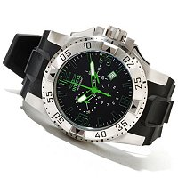 INVICTA MEN'S EXCURSION QUARTZ CHRONO POLYURTHANE STRAP WATCH