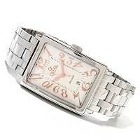Gevril Men's Avenue of Americas Swiss Made Automatic Bracelet Watch