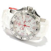 INVICTA MEN'S RESERVE EXCURSION SWISS MADE QUARTZ CHRONO PU STRAP WATCH