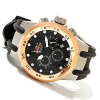 INVICTA MEN'S S1 AVIATION POLYURETHANE STRAP WATCH