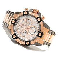 INVICTA RESERVE MEN'S ARSENAL SWISS QUARTZ CHRONOGRAPH BRACELET WATCH