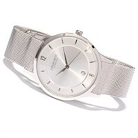 Johan Eric Men's Hobro Quartz Stainless Steel Bracelet Watch