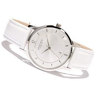Johan Eric Men's Hobro Quartz Leather Strap Watch