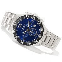 Claude Bernard Men's Aquarider Swiss Made Quartz Bracelet Watch