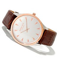 Johan Eric Men's Helsingor Quartz Leather Strap Watch
