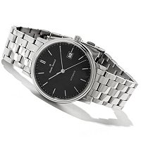 Claude Bernard Men's Classic Swiss Made Automatic Bracelet Watch