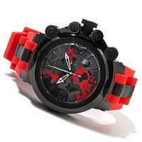 "INVICTA MEN'S COALITION FORCES ""TRIGGER"" SWISS MADE QUARTZ CHRONO STRAP WATCH"