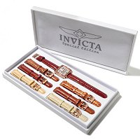 INVICTA WOMEN'S WILDFLOWER CLASIQUE 7PC STRAP SET