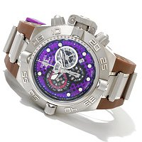 "INVICTA MEN'S SUBAQUA NOMA IV ""PUPPY EDITION"" SWISS CHRONO STRAP WATCH"