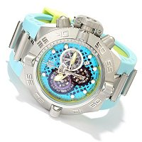 "INVICTA MEN'S SUBAQUA NOMA IV ""PUPPY EDITION"" SWISS MADE CHRONO STRAP WATCH"