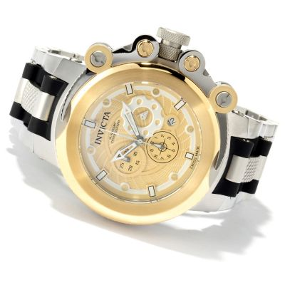 620-270 - Invicta Men's Coalition Forces Trigger Swiss Made Quartz Chronograph Stainless Steel Strap Watch