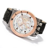 INVICTA MEN'S JASON TAYLOR CORDUBA SWISS CHRONO STRAP WATCH