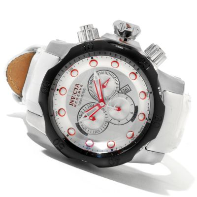 620-329 - Invicta Reserve Men's Venom Swiss Made Quartz Chronograph Stainless Steel Strap Watch