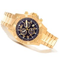 INVICTA MEN'S SPECIALTY QUARTZ CHRONO BRACELET WATCH W/ COLLECTOR'S BOX