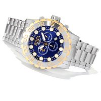 INVICTA MEN'S RESERVE LEVIATHAN EVOLUTION SWISS MADE QUARTZ CHRONO WATCH