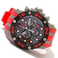 INVICTA RESERVE MENS JASON TAYLOR SPECIALTY SUBAQUA SCUBA STRAP WATCH