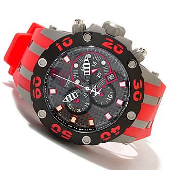 620-338 - Invicta Reserve Men's Jason Taylor Specialty Subaqua Scuba Strap Watch w/ 3-Slot Dive Case