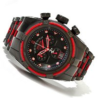 INVICTA RESERVE MENS JASON TAYLOR BOLT ZEUS SWISS CHRONO BRACELET WATCH