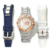 INVICTA MEN'S SUBAQUA NOMA IV SWISS CHRONO INTERCHANGEABLE 3 PC WATCH SET