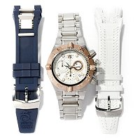 INVICTA WOMEN'S SUBAQUA NOMA IV SWISS CHRONO INTERCHANGEABLE 3 PC WATCH SET