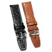 24mm Alligator Strap Set