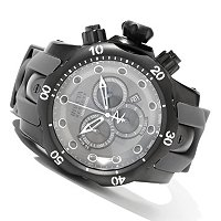 INVICTA RESERVE MEN'S VENOM MONOTONE QUARTZ CHRONOGRAPH STRAP WATCH