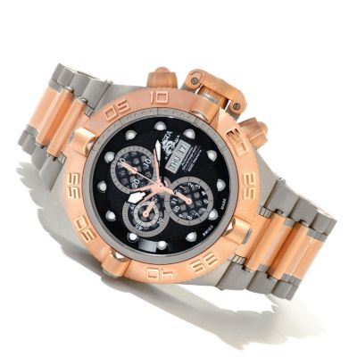 620-393 - Invicta Men's Subaqua Noma IV Limited Edition Swiss Valjoux 7750 Automatic Titanium Watch