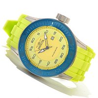 INVICTA MEN'S PRO DIVER QUARTZ DATE RUBBER STRAP WATCH