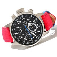INVICTA MEN'S I FORCE RIFLE LEFTY QUARTZ CHRONO STRAP WATCH