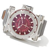 INVICTA MEN'S COALITION FORCES RIFLE QUARTZ GMT STRAP WATCH