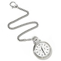 Stuhrling Original Monarch Nouveau Quartz Pocket Watch