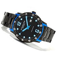 Stuhrling Original Men's Trofeo Quartz Stainless Steel Bracelet Watch