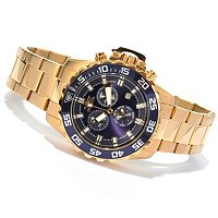 INVICTA MEN'S PRO DIVER QUARTZ CHRONO BRACELET WATCH W/ DIVE CASE