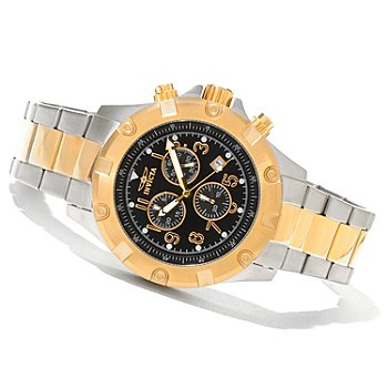 620-463 - Invicta Men's Specialty Quartz Chronograph Two-Tone Stainless Steel Bracelet Watch