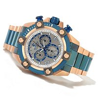 TTV INVICTA RESERVE MENS GRAND ARSENAL SWISS QUARTZ CHRONO BRA WATCH W/ 8DC