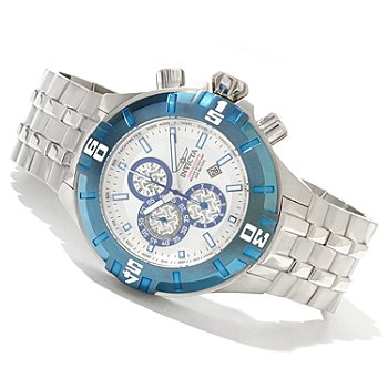 620-668 - Invicta Men's Pro Diver XXL Quartz Chronograph Stainless Steel Bracelet Watch