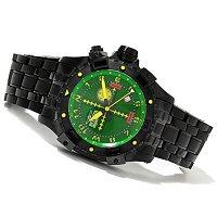 INVICTA MEN'S AVIATOR QUARTZ DATE LUME DIAL BRACELET WATCH