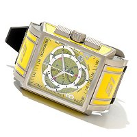 INVICTA MEN'S S1 TOURING ED SWISS MADE QUARTZ CHR CARBON FIBER DIAL STRAP WATCH