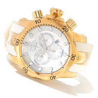 INVICTA RESERVE MEN'S VENOM SWISS MADE QUARTZ CHRONOGRAPH STRAP WATCH