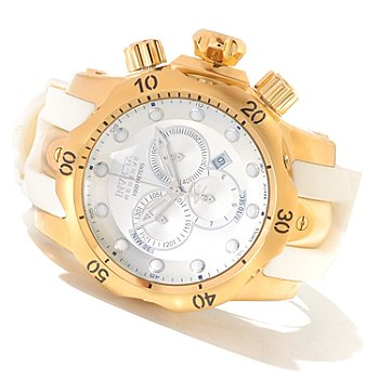 620-693 - Invicta Reserve Men's Venom Swiss Made Quartz Chronograph Polyurethane Strap Watch