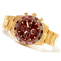 INVICTA MEN'S SPECIALTY QUARTZ CHRONOGRAPH BRACELET WATCH