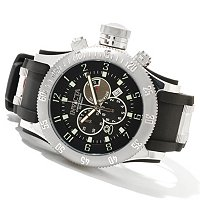 INVICTA MEN'S OFF SHORE RUSSIAN DIVER QUARTZ CHRONO RUBBER STRAP WATCH W/3DC