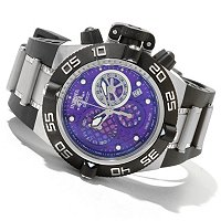 INVICTA MID SIZED SUBAQUA NOMA IV SWISS MADE QUARTZ CHRONO STRAP WATCH