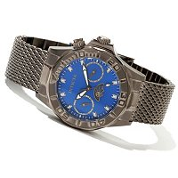 INVICTA WOMEN'S PRO DIVER QUARTZ DAY DATE MESH BRACELET WATCH