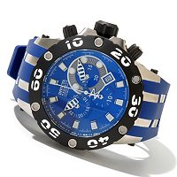 INVICTA RESERVE MEN'S SPECIALTY SUBAQUA QUARTZ CHRONOGRAPH STRAP WATCH W/ 3DC