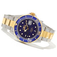 INVICTA MEN'S PRO DIVER QUARTZ STAINLESS BRACELT WATCH