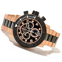 INVICTA MEN'S SEA HUNTER SWISS MADE QUARTZ CHRONOGRAPH BRACELET WATCH