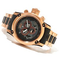 INVICTA MEN'S RUSSIAN DIVER QUARTZ CHRONO CAMO DIAL BRACELET WATCH