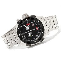 INVICTA MEN'S AVIATOR QUARTZ CHRONOGRAPH STAINLESS BRACELET WATCH